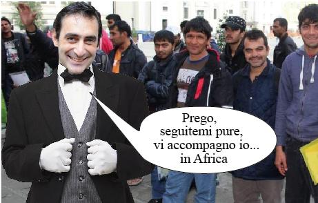 Bergamo l incontro profughi progetto rivoluzionario della for Permesso di soggiorno bergamo
